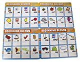 Help beginning readers learn to think about and identify the sounds in spoken words with this phonics sounds dry erase set. The set focuses on high-frequency sight words, long vowels, short vowels, cvc words, beginning blends, ending blends, compound...