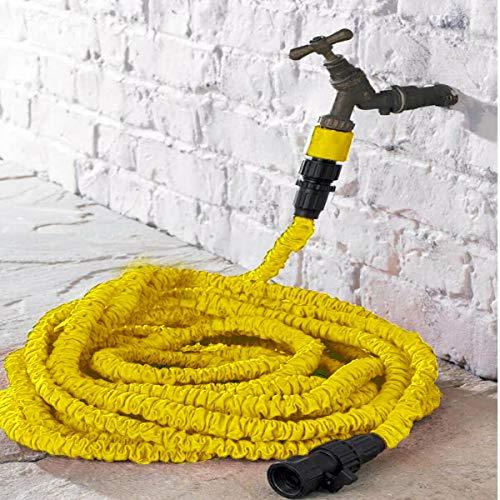 Jardin PRO HOSEPIPE UK Made Professional jaune Anti Kink Tuyau 50 m longueur-par O