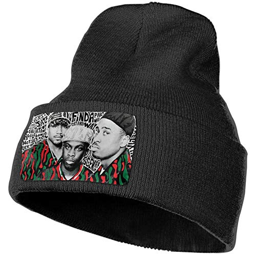 A Tribe Called Quest Beanies Adult Wool Warm Knitted Hat Ski Skull Beanies for Man's Woman's Black