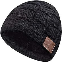 EverPlus Bluetooth Beanie for Men Bluetooth Hat, Mens Gifts, Women Mens Beanie Hats Black