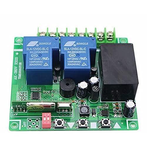 Q-BAIHE Alta potencia 30A tipo de aprendizaje 220-380V interruptor de control remoto de 2-3 vías con control remoto/bomba de agua Control de lámpara de motor 2-Key 315 versión de actualización