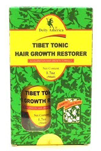Deity of Hair Régénérateur de croissance capillaire Tibet Tonic 50 ml