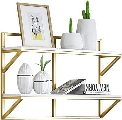 Amazon.com: Wall-Mounted Floating Shelf Living Room Antique ...