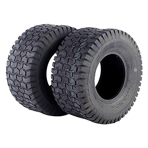 AutoForever 18x8.50-8 Tires Fit for 4 Ply Lawn Mower Garden Tractor 18-8.50-8 Turf Master Tread
