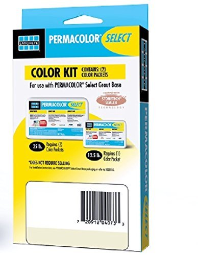 Permacolor SELECT Grout Color Kit (40+ Colors Available) (Smoke Grey)