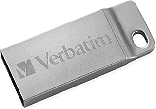 Verbatim 98749 Metal Executive Store'n' go Flash USB 2.0, 32GB, Argento