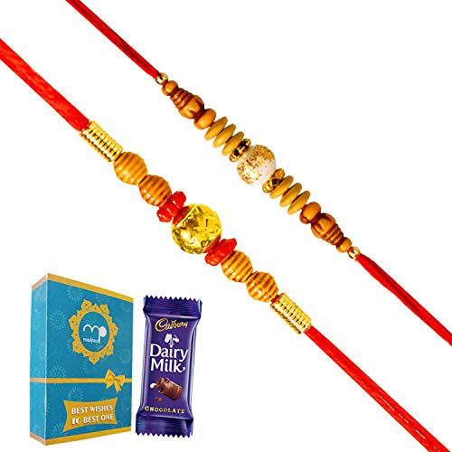 Maalpani Rakhi Chocolate Gift Hamper for Rakshabandhan, Brother, Sister