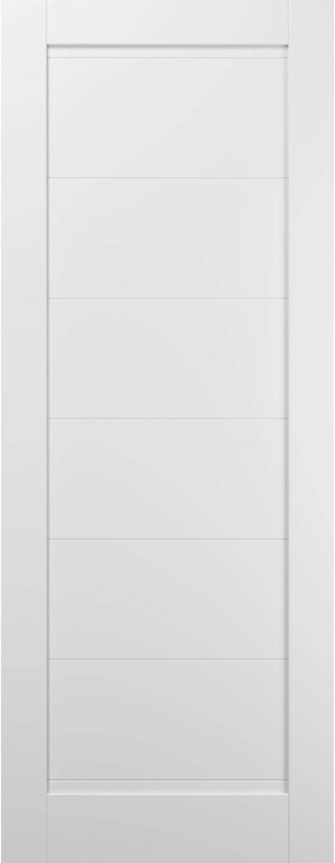 Slab Barn Door Panel 42 overseas x 96 Silk White Quadro Super special price Sturdy F 4115