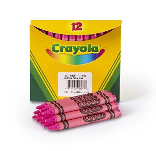 Crayola Crayons in Pink, Bulk Crayons, 12 Count (5208361010)