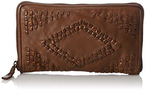 Taschendieb Damen TD058ol, Börse, Grün (olive), 20x11,5x2 cm