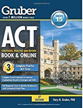 Gruber's ACT Strategies, Practice, and Review 2015-2016