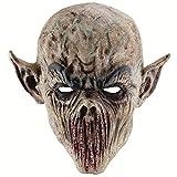 Amosfun Halloween Cosplay Masque Horrific Masque Creepy Terrifiant Monstre Masque Halloween Costumes