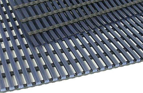 TP Nassraumbodenrost 50 x 400 cm, Farbe: Blau, für Bäder, Umkleide-, Nass- & Barfußbereiche,...
