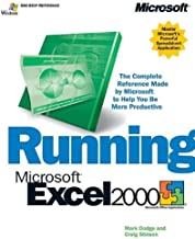 Running Microsoft Excel 2000