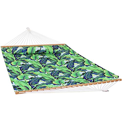 Sunnydaze 2-Person Quilted Printed Fabric Spreader Bar...