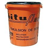 Bitume étanchéité imperméabilisant maçonnerie, bois, métaux, cuves, bassin, piscine, fondations, sols, BITUFLASH 25 litres