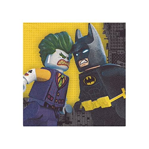 amscan Batman 9901825 - Tovaglioli di Carta