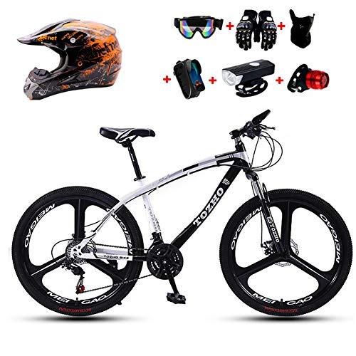 WHYTT 21 Velocidades Bicicleta Plegable MTB Viajeros 24 Pulgadas MTB Bicicleta De...