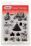 stieber Clear Stamps Transparente Stempel Sets (Bitte gewünschtes Motiv/Thema unten auswählen!) (IM Garten - IN The Garden)