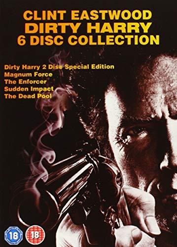 6er DVD-Boxset Dirty Harry Collection 1 - 5 Uncut - mit deutschem Ton - Clint Eastwood -