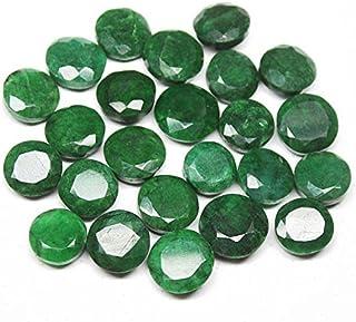 AAA Natural Brasil Verde Esmeralda Ronda Moneda Piedra Preciosa Artesanía Suelta