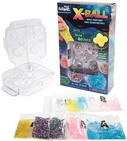 Crazy Aaron s Make Your Own Putty Bouncy Ball Kit X Ball Thinking Putty Activity Set Mix Mold product image