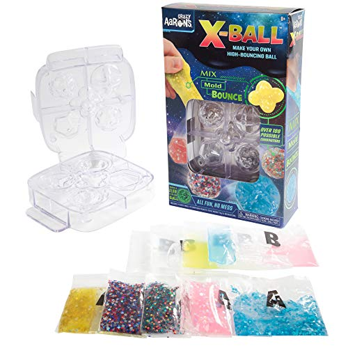 Crazy Aaron's Make Your Own Putty Bouncy Ball Kit - X-Ball Thinking Putty Activity Set - Mix, Mold,...