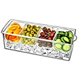 bar @ drinkstuff 4 Refrigerated condiment compartment with lid