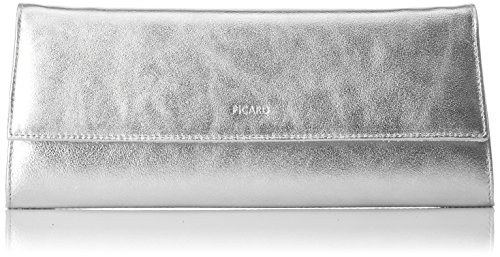 Picard Damen Auguri Umhängetasche, Silber (Silber), 3x11x26 cm