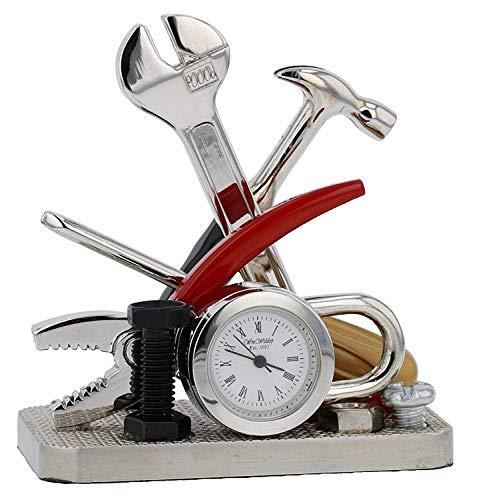 Orologio Miniatura Attrezzi e Lucchetto Fai Da Te