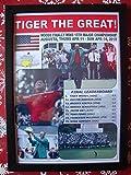 Sports Prints UK Tiger Woods 2019 Masters Turnier Champion