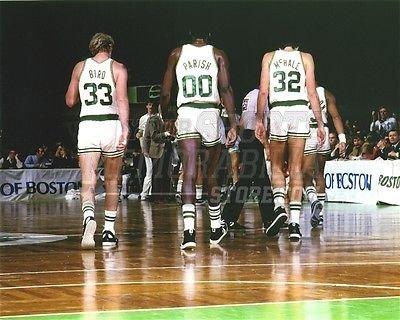 Bird Parish McHale Boston Celtics walking off court 8x10 11x14 16x20 photo 832 - Size 16x20