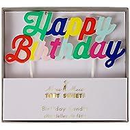 Meri Meri Multicolor Happy Birthday Candle