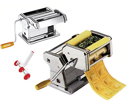 Nudelmaschine Raviolimaschine Spaghetti Ravioli Nudeln Kinghoff KH-3113