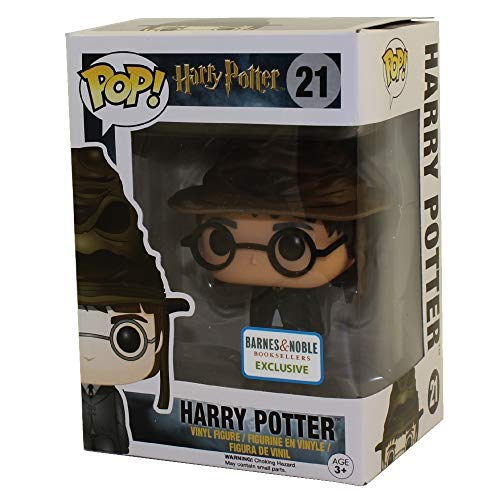 Funko POP! Harry Potter: Harry Potter con el sombrero seleccionador