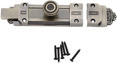 YIJIAN Vintage deurkrukbeslag Sliding Lock Klink Barrel Bolt Brons zinklegering Compatible with huisraad (Color : DE)