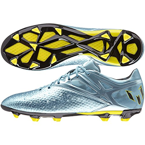 adidas New Men's Messi 10.2 Soccer Cleat Ice/Bright Yellow 10.5