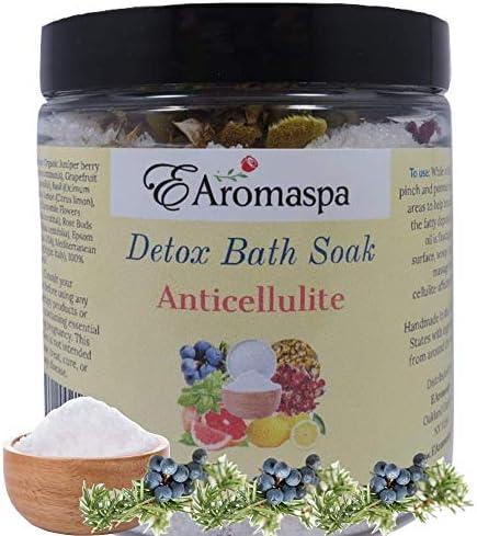 EAromaspa Anti Cellulite Detox Bath Soak for Body Cleanse Toxin Slim Down Cellulite Detox Bath product image