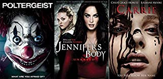 Leading Ladies Bringing the Scares and Screams: Jennifer's Body & Carrie (2013) & Poltergeist (2015) Megan Fox/ Amanda Seyfried/ Chloë Grace Moretz 3 DVD Collection