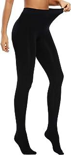 WOWENY Thermo-Strumpfhose für Damen, 120 Den, figurformende Strumpfhose aus Nylon, Pantyhose, blickdicht, für alle Tage