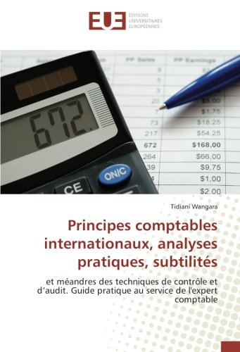Principes comptables internationaux,...
