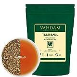 VAHDAM, té chai condimento con albahaca Tulsi, 100 gramos (50 tazas)   Té de albahaca santa   Tulsi Tea Con 100% ESPECIAS NATURALES   Hojas de té chai con especias     Té de hojas sueltas de la India