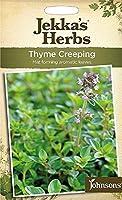 【輸入種子】 Johnsons Seeds Jekka's Herbs Thyme Creeping ジェッカズ・ハーブス タイム・クリーピング ジョンソンズシード