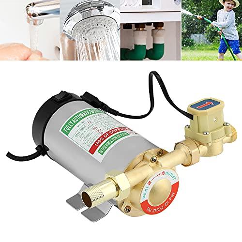 Bomba de refuerzo, 150W 16L/min AutomáTico Bomba De Refuerzo con interruptor de flujo de agua, ETE ETMATE bomba de agua de alta presión para ducha, agua del grifo, calentador de agua riego de jardín
