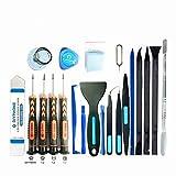 20Pcs Phone Repair Kit precision Screwdriver Set Metal Pry Spudger Opening Tool Kit for iPhone 7 7P 8 X XS MAX 11 Repair