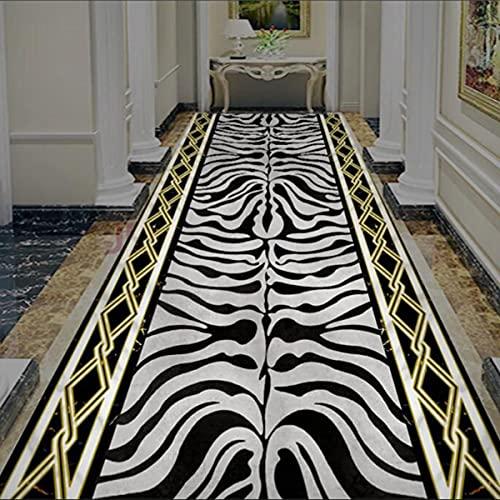 Pretty Store Tappeto da Passeggio con Rivestimento Antiscivolo per Scale del Corridoio della Cucina D'ingresso, Senza Tettoia, Tagliabile, Lunghezza Personalizzata (Size : 0.6 * 6M)