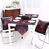 AAPOY Weihnachts Tischläufer 1 Stücke Tischläufer Tischdecke Bett Flagge Tischset Tv Nachttisch Abdeckung Handtuch 33 * 160Cm