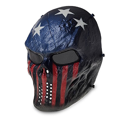 Masque Tactique Militaire Protection Visage pour...