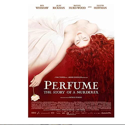 Perfume: la historia de un asesino póster de película lienzo pintura arte póster impresión hogar pared sala de estar decoración-50x70 cm sin marco