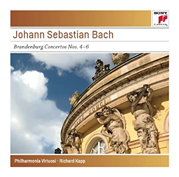 Bach: Brandenburg Concertos Nos. 4-6, BWV 1049-1051 - Sony Classical Masters